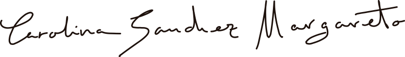 Firma Carolina Sánchez Margareto